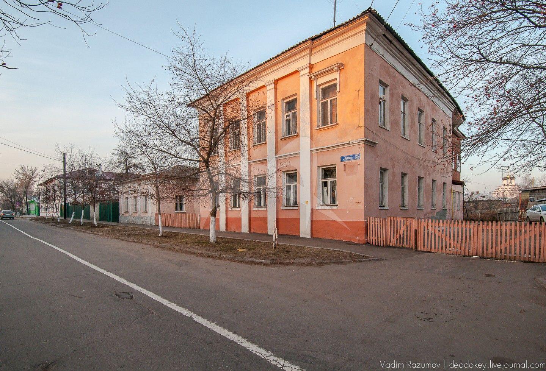 Флигель, XIX в., усадьба Лусковских (Слоновых)