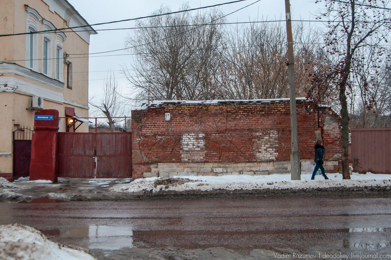 Ворота, конец XIX в., начало ХХ в., усадьба городская