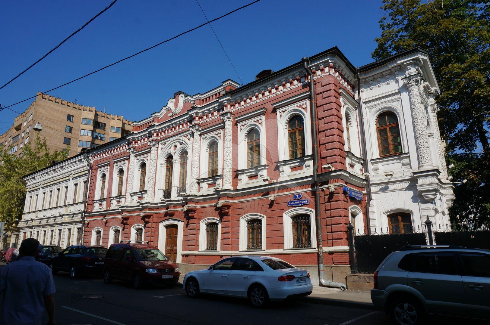 Главный дом, 1852 г. арх. Н.И.Козловский, городская усадьба П.Ф. Секретарева