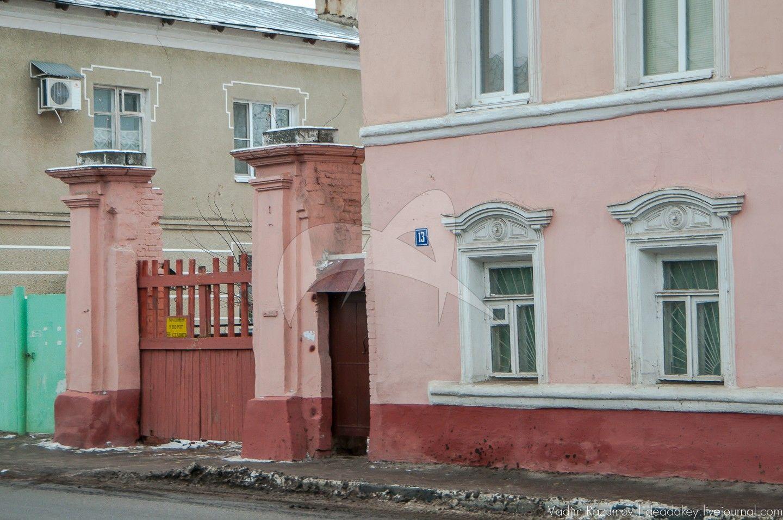 Ворота, ограда, усадьба городская