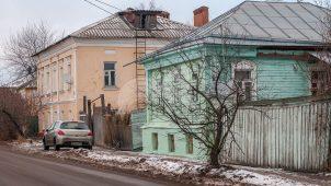 Главный дом, первая четверть XIX в., середина XIX в., усадьба городская