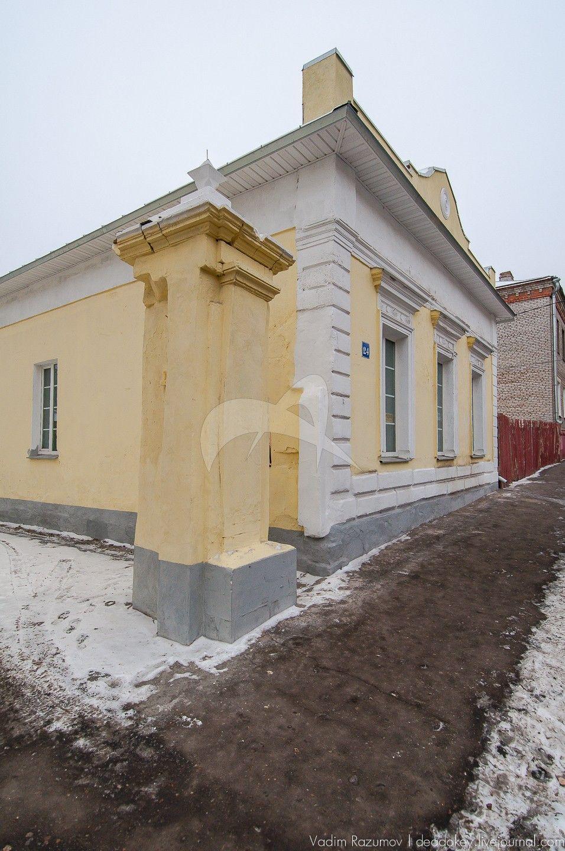 Ворота, первая половина XIX в., усадьба городская