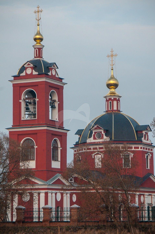 Церковь благоверных князей Бориса и Глеба, 1809-1816 гг.