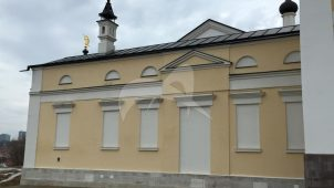 Корпус служебный у колокольни, Высоцкий монастырь, ХV-XVIII вв.