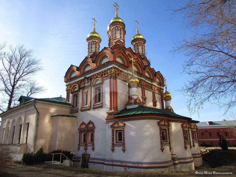 Церковь Николы на Берсеневке, 1656 г., усадьба Думного дьяка Аверкия Кириллова