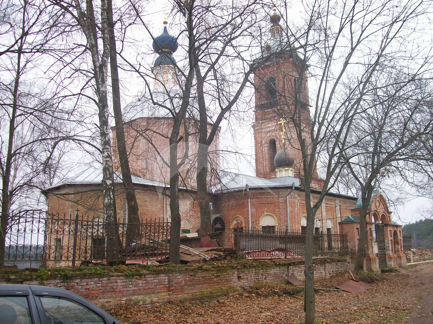 Церковь Преображения Господнего, 1735 г., 1864 г.