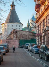 Башня угловая юго-западная, Ансамбль Новоспасского монастыря
