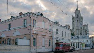 Южный флигель городской усадьбы Клаповской, середина XIX в., конец XIX в.