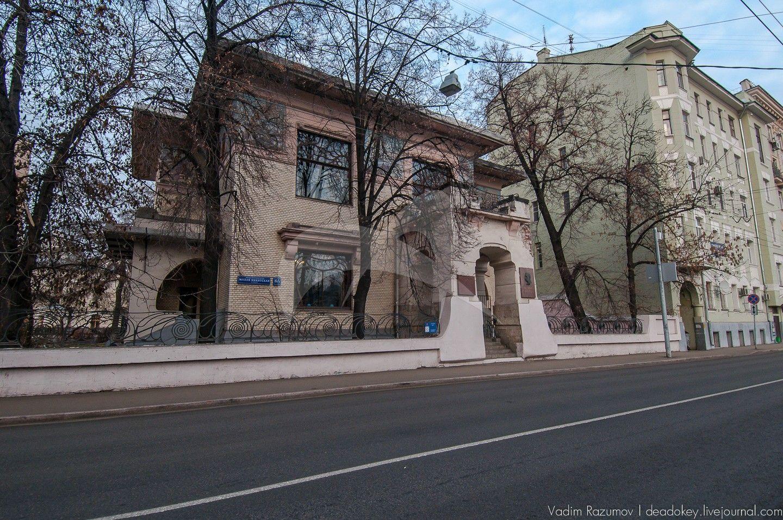 Главный дом, особняк Рябушинского, конец XIX — начало XX вв., арх. Ф.О.Шехтель