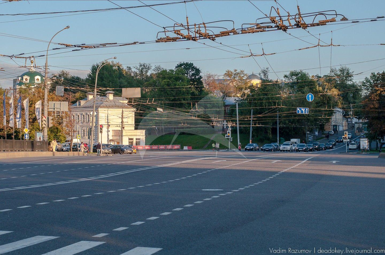 Две ограды сада Городской усадьбы по западной и восточной границам, конец XVIII — начало XIX вв., Яузская городская больница