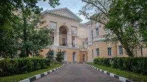 Фрагмент галереи парадного двора Яузской городской больницы, 1796-1804 гг.