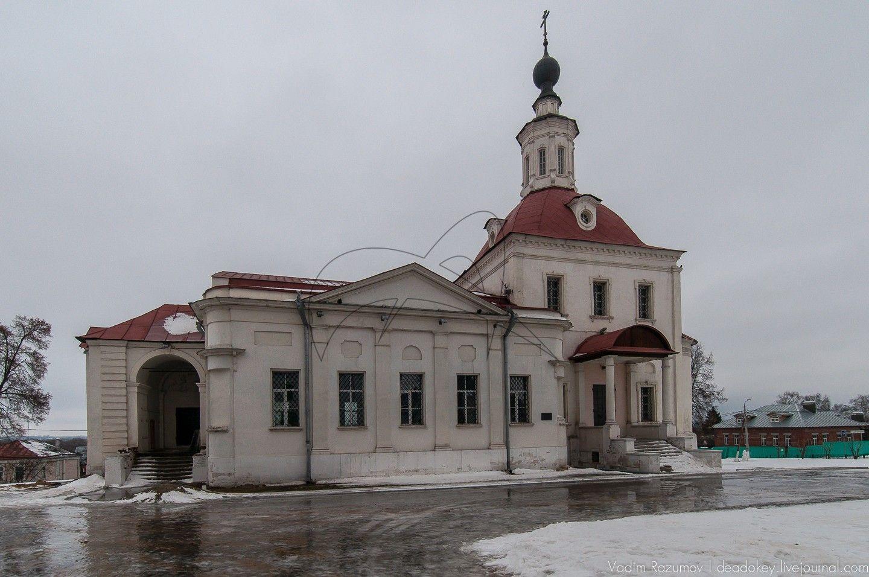 Церковь Воскресения Словущего, XIV-ХVIII вв., 1780-1789 гг.