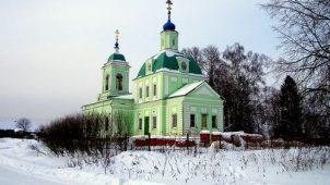 Церковь Святой Троицы, 1784, 1853-1856 гг., усадьба «Троицкое-Рязанцы», конецXVIII — началоXIXвв.