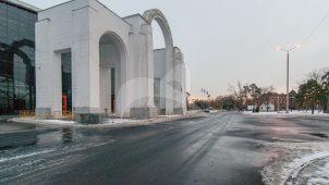 Северный вход, 1939 г., арх. Поляков Л.М., комплекс Всесоюзной сельскохозяйственной выставки
