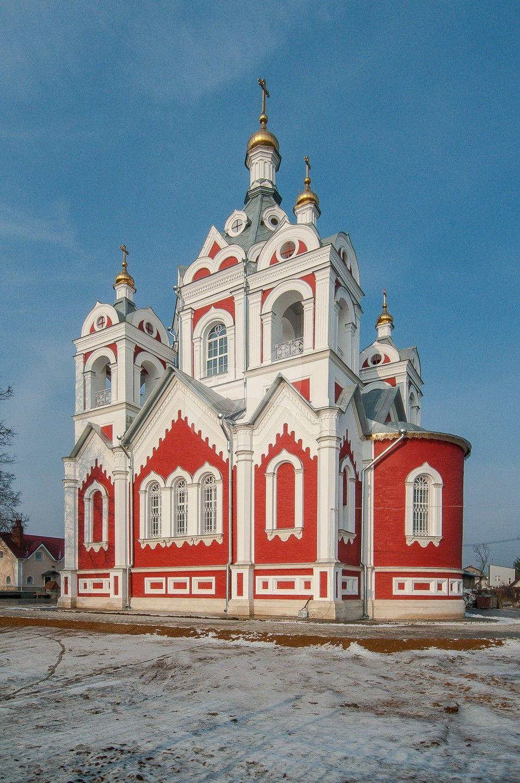 Церковь Казанской иконы Божией Матери, 1859 г., арх. К.А. Тон