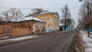 Флигель, усадьба Шапошниковых, 1830-1840 г.