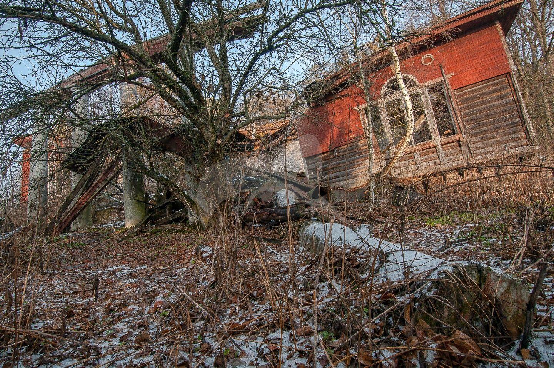 Главный дом (деревянный), усадьба «Филатово», XIX в.