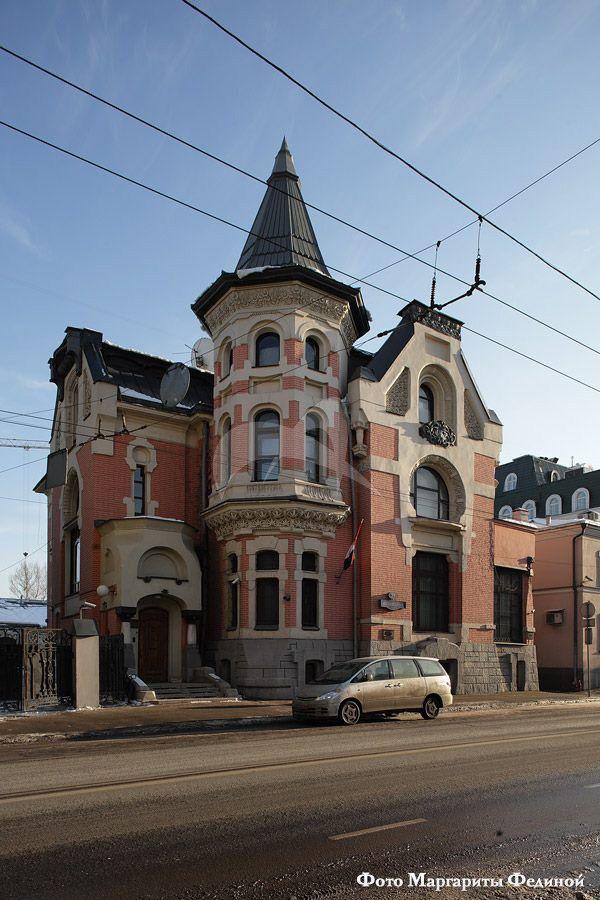 Главный дом, особняк А.И. Кекушевой на Остоженке, 1903 г., арх. Кекушев Л.Н.