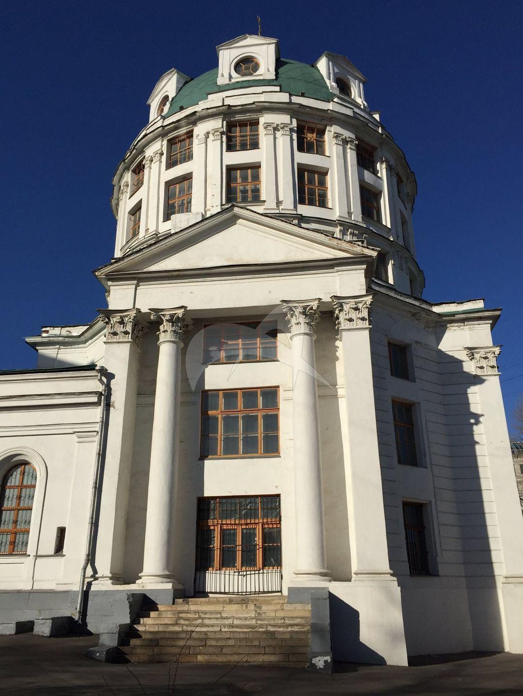 Церковь Симеона Столпника, 1798 г., с оградой, конец XVIII в., арх. М.Ф. Казаков