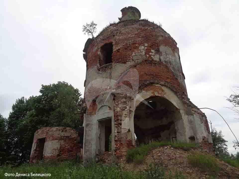 Церковь великомученика Димитрия Солунского, 1800-1805 гг.