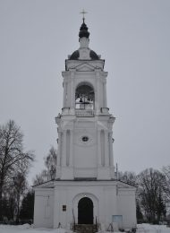 Тихвинская церковь, усадьба «Авдотьино», в которой жил и в 1818 г. умер просветитель Новиков Николай Иванович