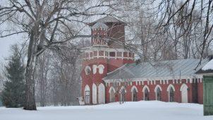 Конный двор, 1780-е гг., XIX  в., арх. В.И. Баженов (?), усадьба «Марьинка»