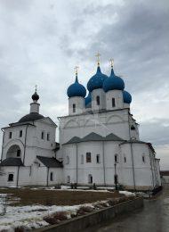 Собор Зачатия Пресвятой Богородицы, ХV-ХVII вв., Высоцкий монастырь
