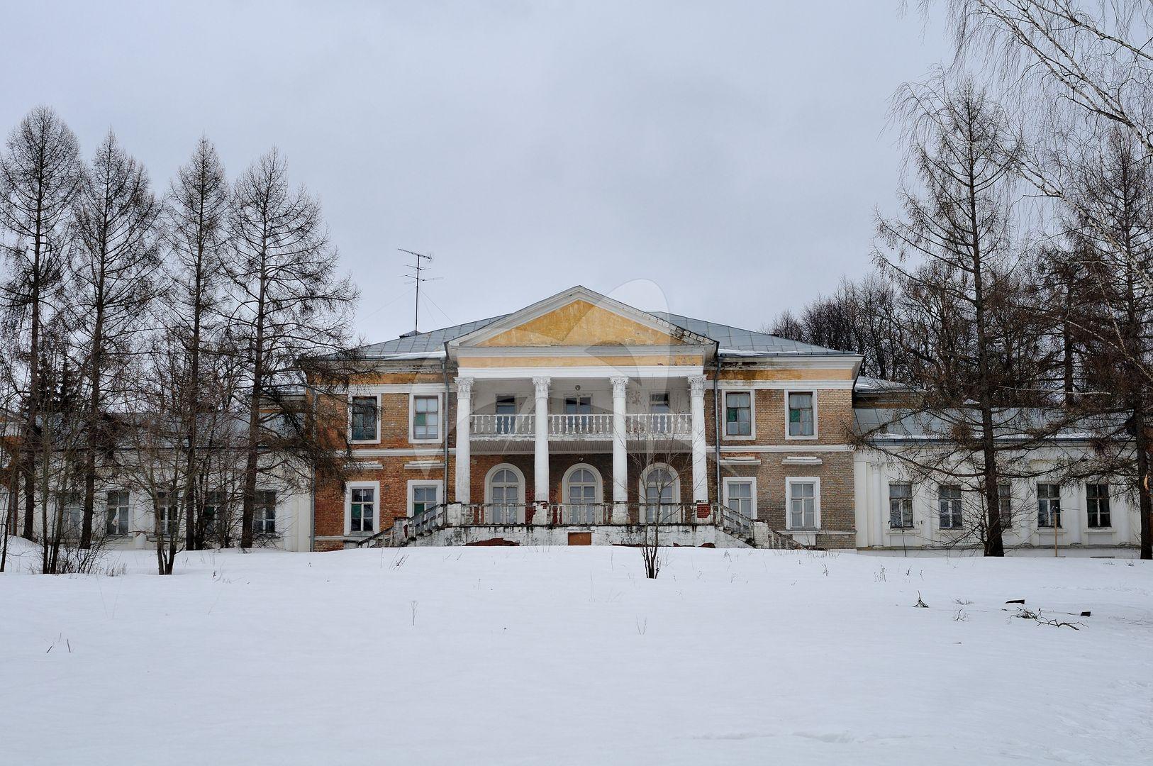 Главный дом, усадьба Воробьевых, XIX в.
