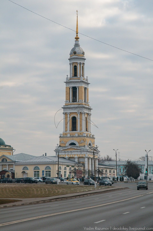 Церковь Иоанна Богослова, 1758 г., Ансамбль Кремля, ХVI в.