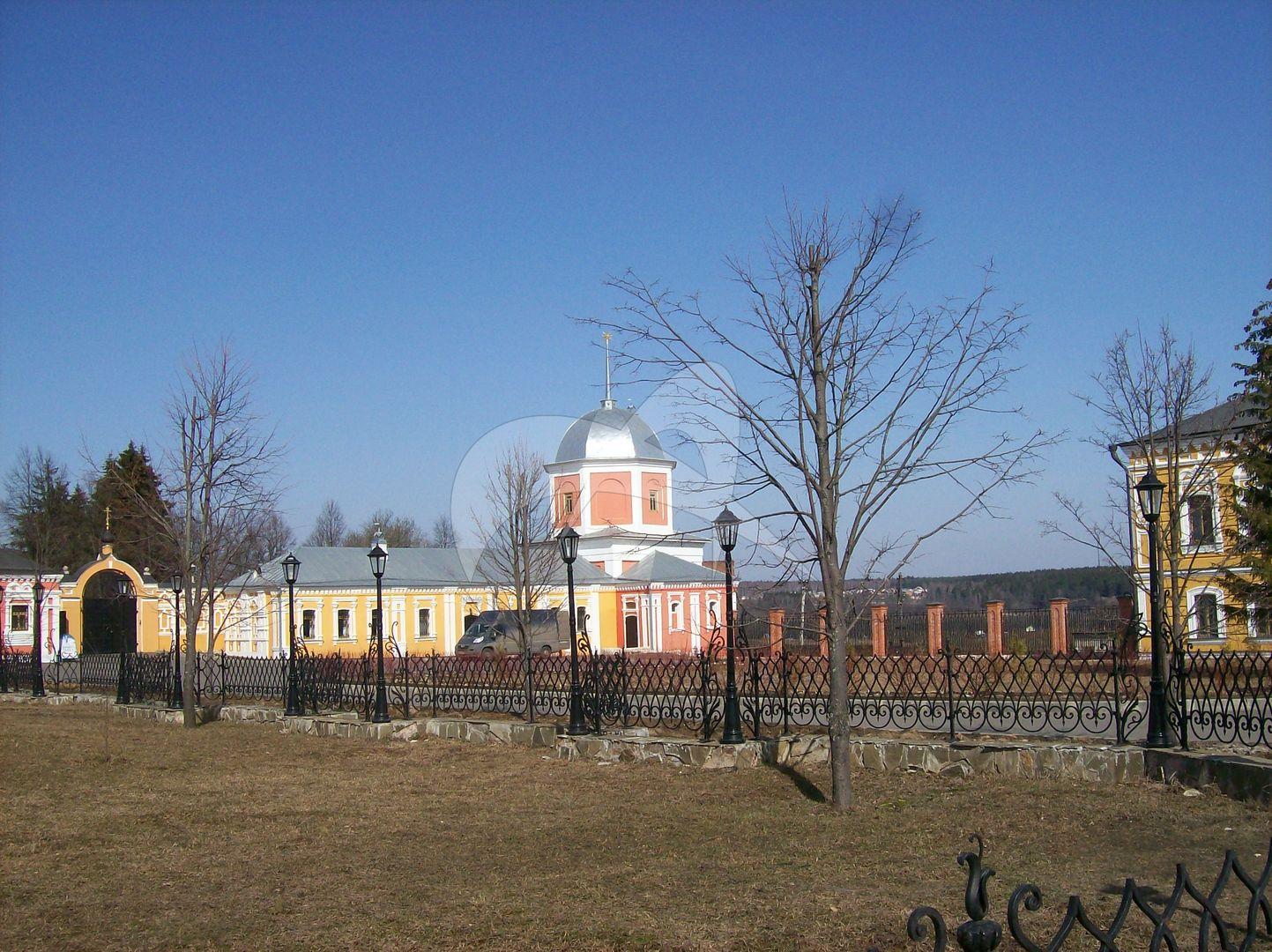 Башня северо -западная, монастырь «Вознесенская Свято-Давидова пустынь»