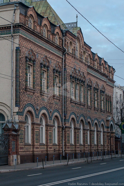 Особняк А.В. Лопатиной, здание в византийском стиле, 1875 г., арх. А.С. Каминский