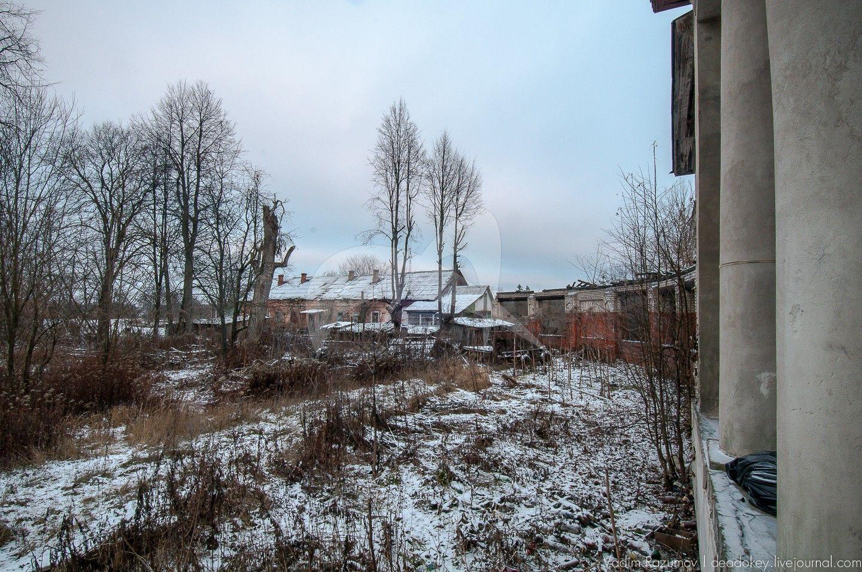 Восточный флигель, усадьба Обольянинова, ХVIII в.