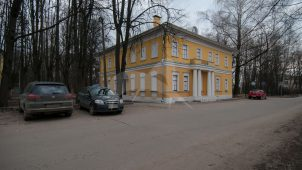 Флигель, XIX в., усадьба Знаменское-Губайлово, XVIII в.