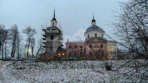 Церковь Николая Чудотворца, 1794 г., усадьба Обольянинова, ХVIII в.