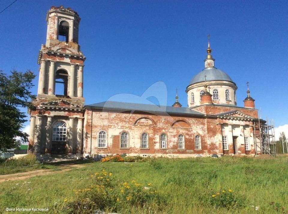 Церковь Преображения Господня, 1836 г.