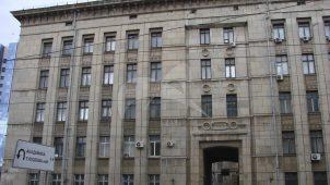 Здание НИИ черной металлургии. Здесь в 1944-1960 гг. работал металлург, академик М.П. Бардин