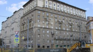 Жилой дом, 1939 г., арх. М.И. Синявский