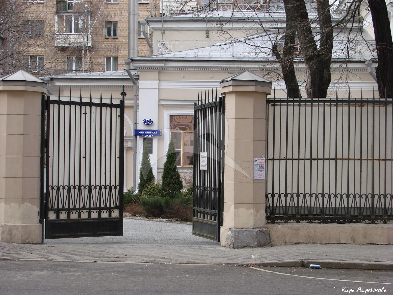 Ограда, городская усадьба, начало XIX в., арх. О.И. Бове