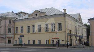 Дом Якова Вилима Брюса, XVIII в.