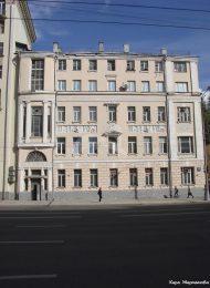 Жилой дом Баевых со службами, 1910 г., художник-архитектор И.С. Кузнецов