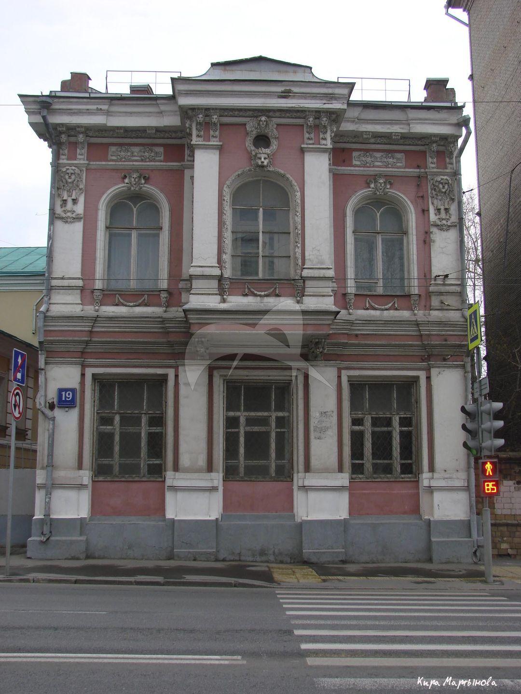Флигель, 1902 г., арх. Микини П.К., усадьба, XVIII-XIX вв.