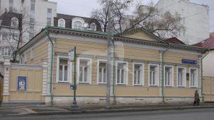 Дом, в котором в 20-х гг. XIX в. у своего дяди, поэта Пушкина Василия Львовича, часто бывал Пушкин Александр Сергеевич