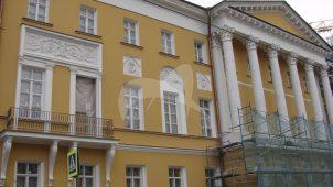 Дом Дурасова с двумя воротами и оградой, конец ХVIII в., арх. М.В. Казаков
