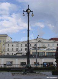 Четыре фонаря (элемент памятника Н.В. Гоголю работы ск. Н.А. Андреева, 1909 г.)