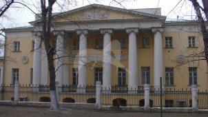 Орловская больница, конец XVIII в.
