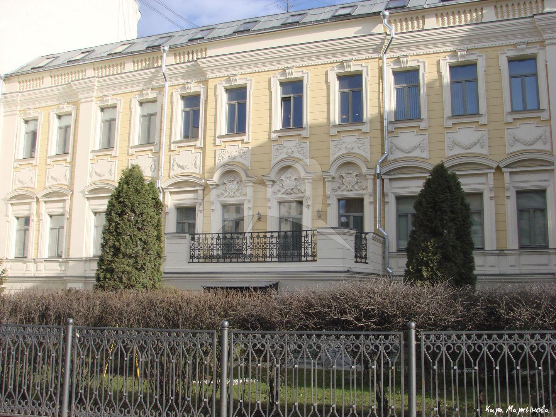 Жилой дом, конец XVIII в., 1860 г., 1875 г., арх. М.И. Арсеньев