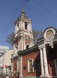 Колокольня, 1750 г., церковь Николы в Подкопае
