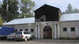 Здание парадных конюшен конного двора, ансамбль подмосковной усадьбы «Люблино», конец XVIII — начало XIX вв.