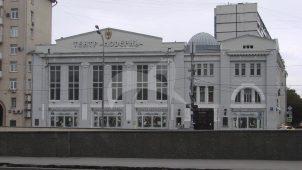 Здание бывшей Хлебной биржи, в которой в 1918-1920 гг. Ленин Владимир Ильич неоднократно выступал на различных собраниях и митингах