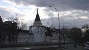 Башня северо-западная. Даниловский монастырь. Крепостные башни, XVII в.